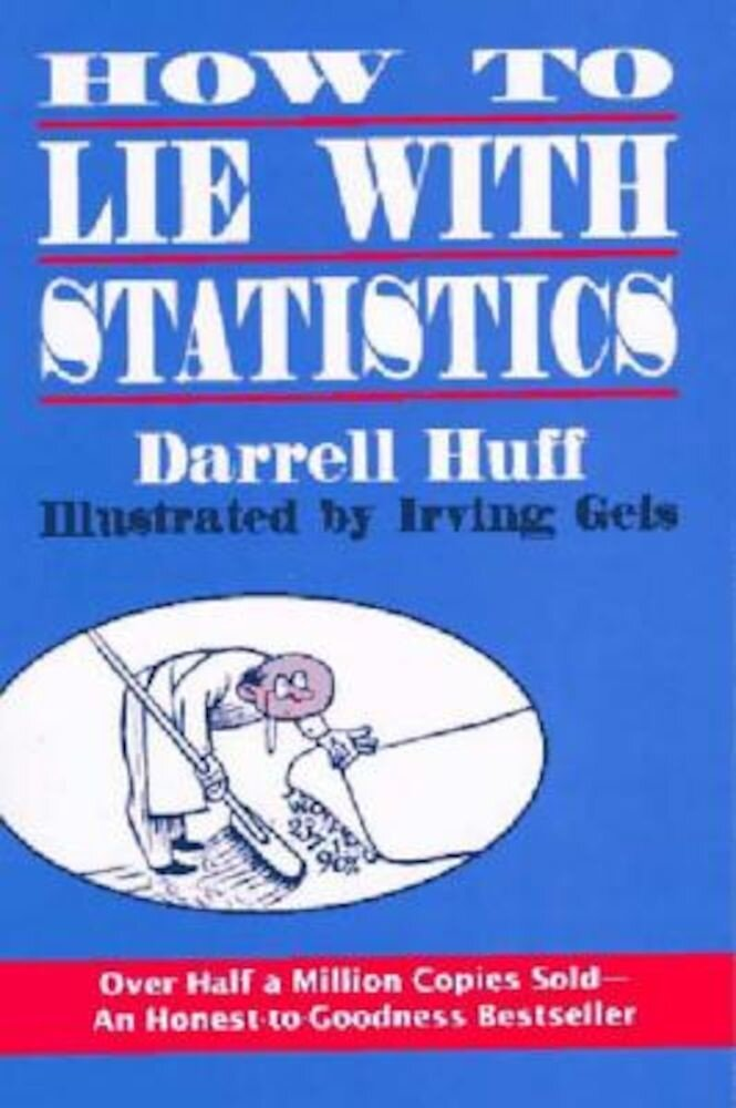 How to Lie with Statistics, Paperback