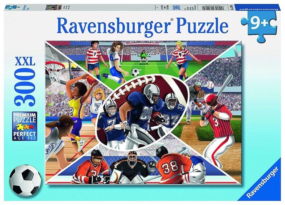 Puzzle Sporturi, 300 piese XXL