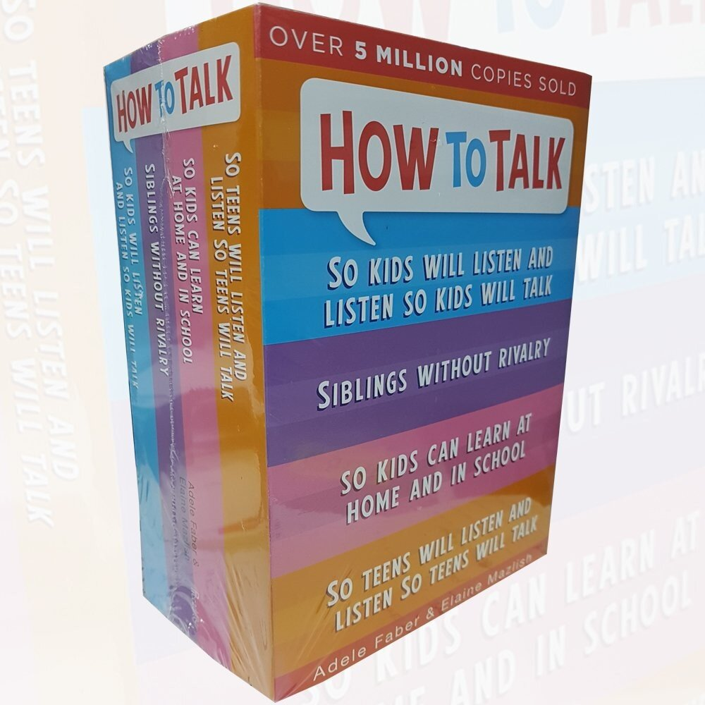 How to Talk So Kids and Teens Will Listen Collection Adele Faber 4 Books
