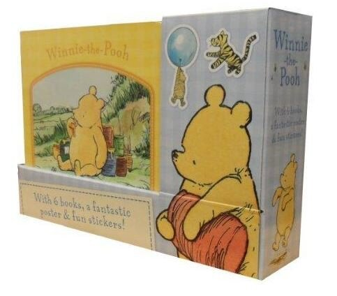 Coperta Carte Winnie the Pooh 6 Books Collection Set with Poster & Stickers