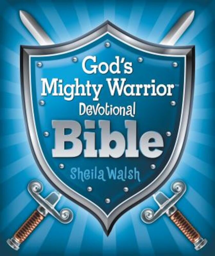 God's Mighty Warrior Devotional Bible, Hardcover
