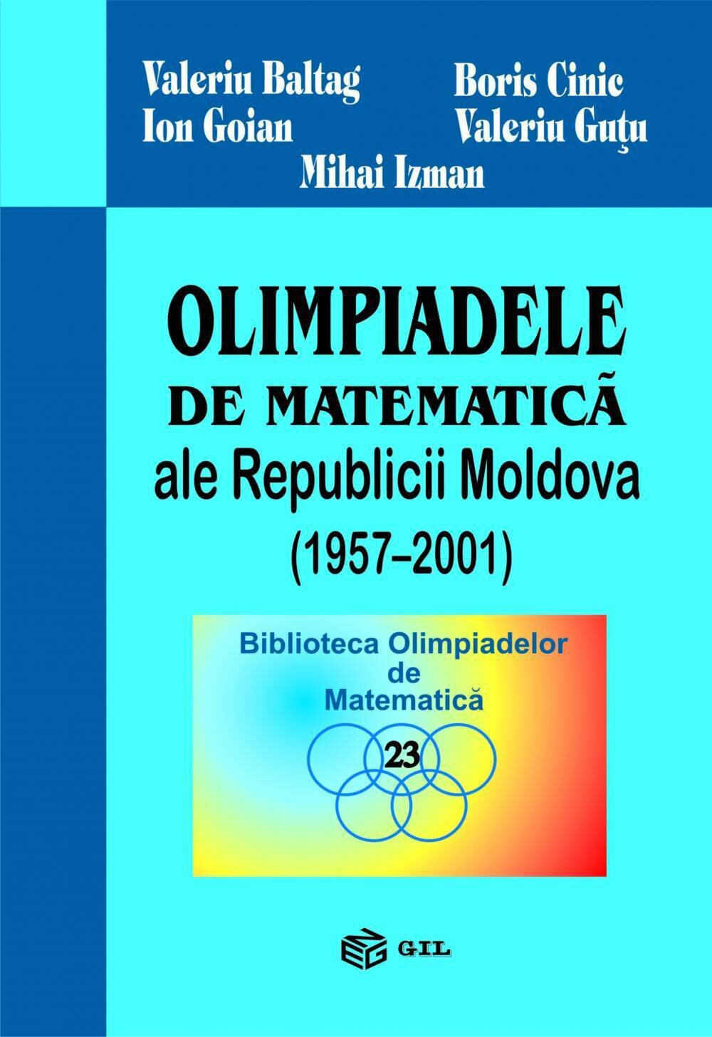 Olimpiadele Republicii Moldova 1957-2001 (eBook)
