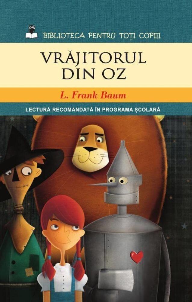 Coperta Carte Vrajitorul din Oz