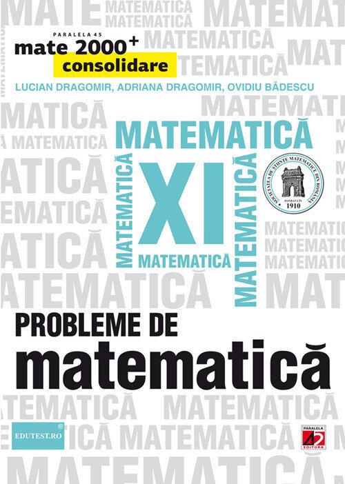 Probleme de matematica pentru clasa a XI-a. Editia 2014