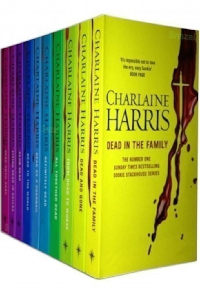 True Blood Shrinkwrapped Collection Set 10 Book P