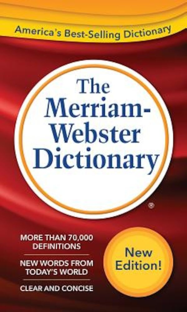 The Merriam-Webster Dictionary, Paperback