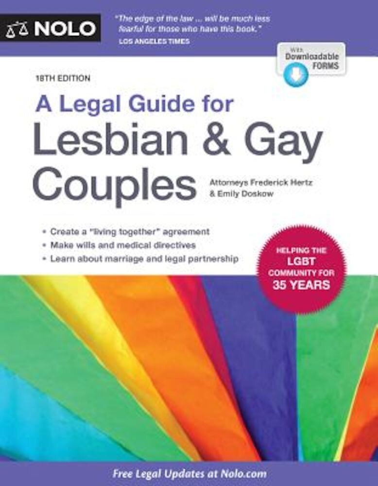 A Legal Guide for Lesbian & Gay Couples, Paperback