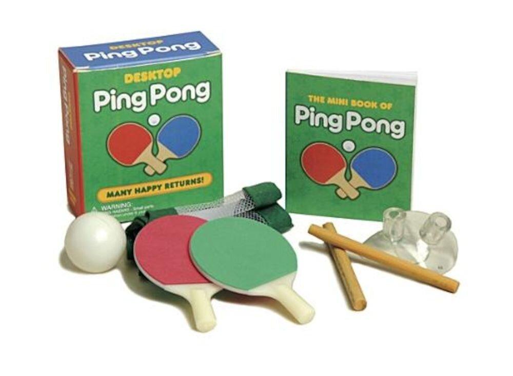 Desktop Ping Pong, Paperback