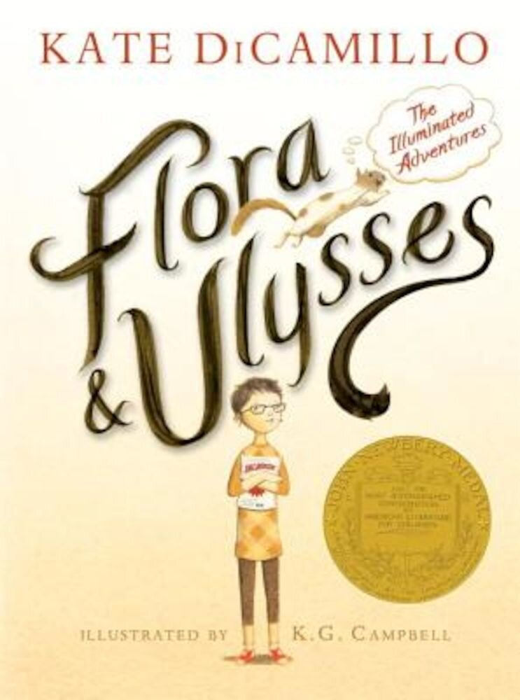 Flora and Ulysses: The Illuminated Adventures, Hardcover