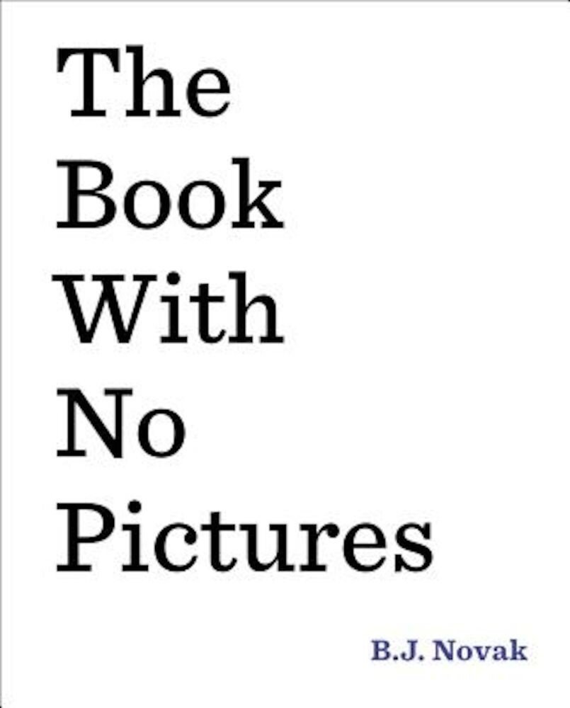 The Book with No Pictures, Hardcover