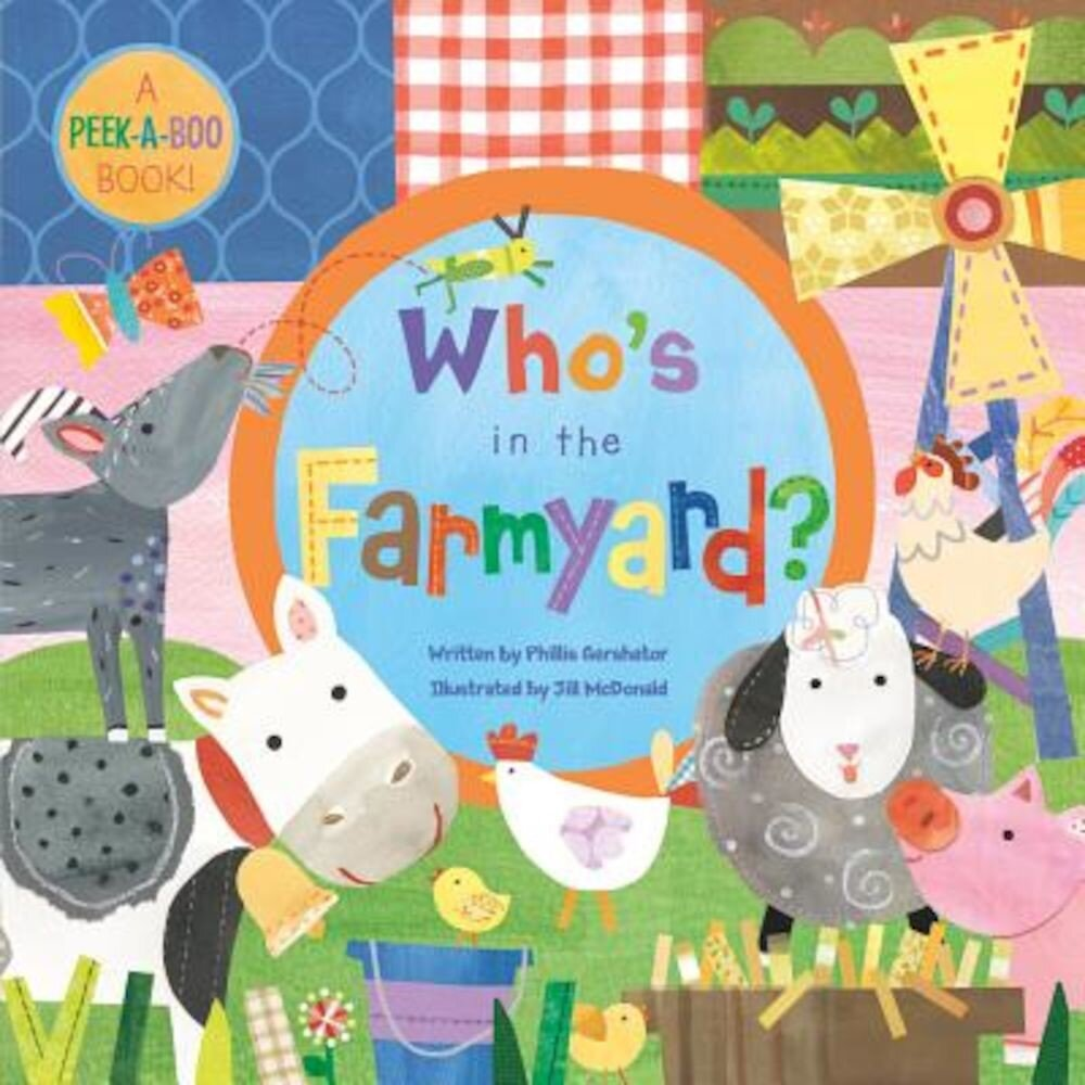 Who's in the Farmyard?, Hardcover