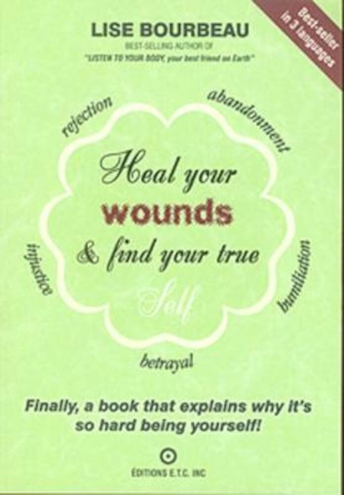 Heal Your Wounds & Find Your True Self, Paperback