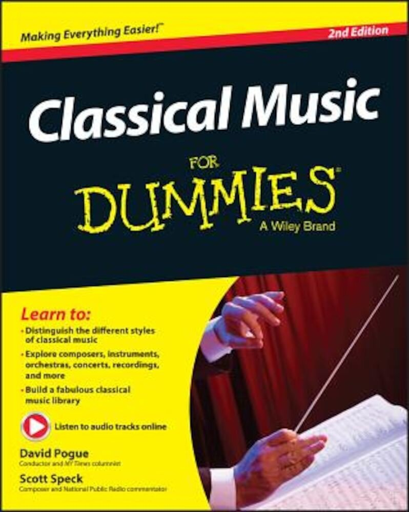 Classical Music for Dummies, Paperback