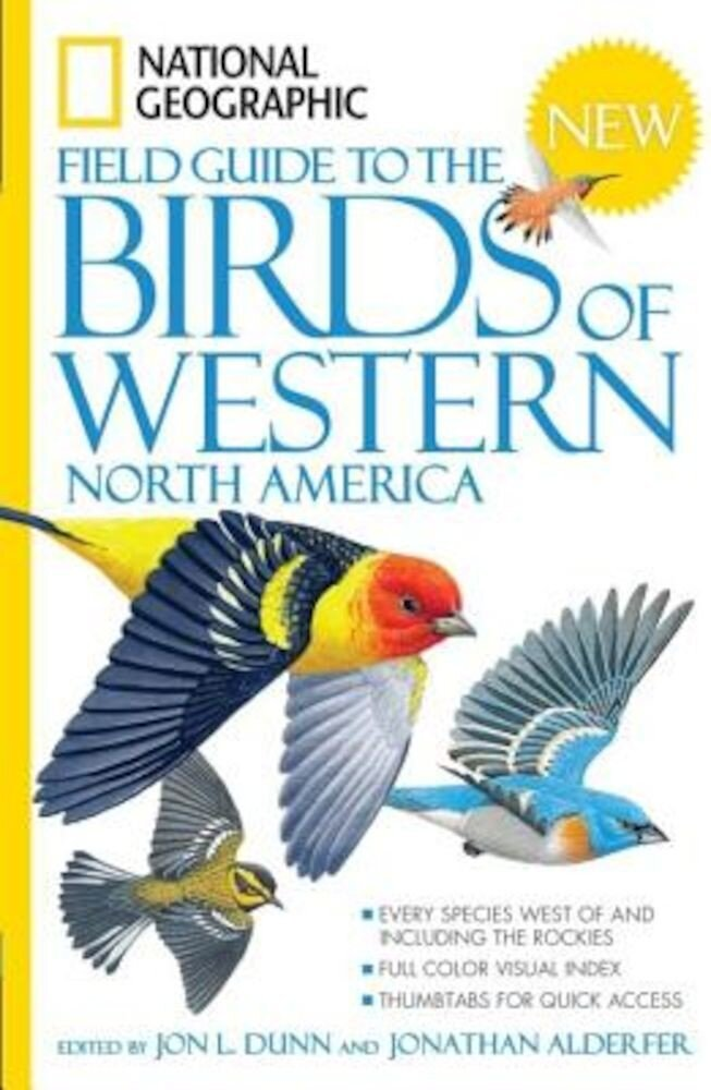 National Geographic Field Guide to the Birds of Western North America, Paperback