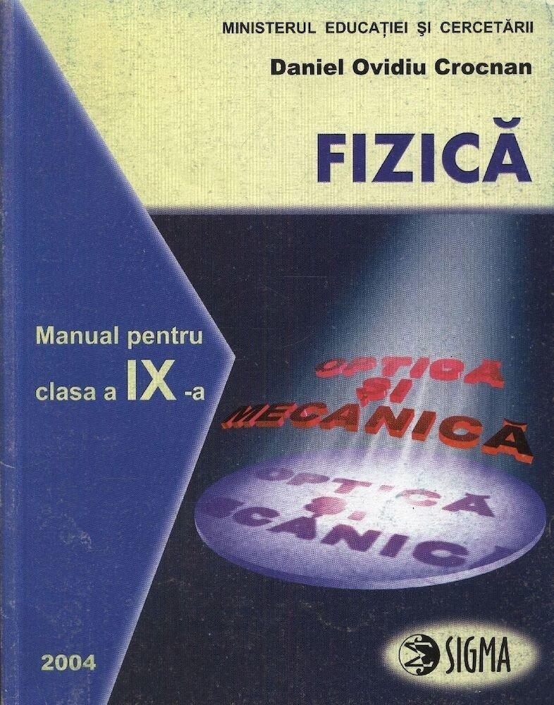 Fizica. Manual clasa a IX-a