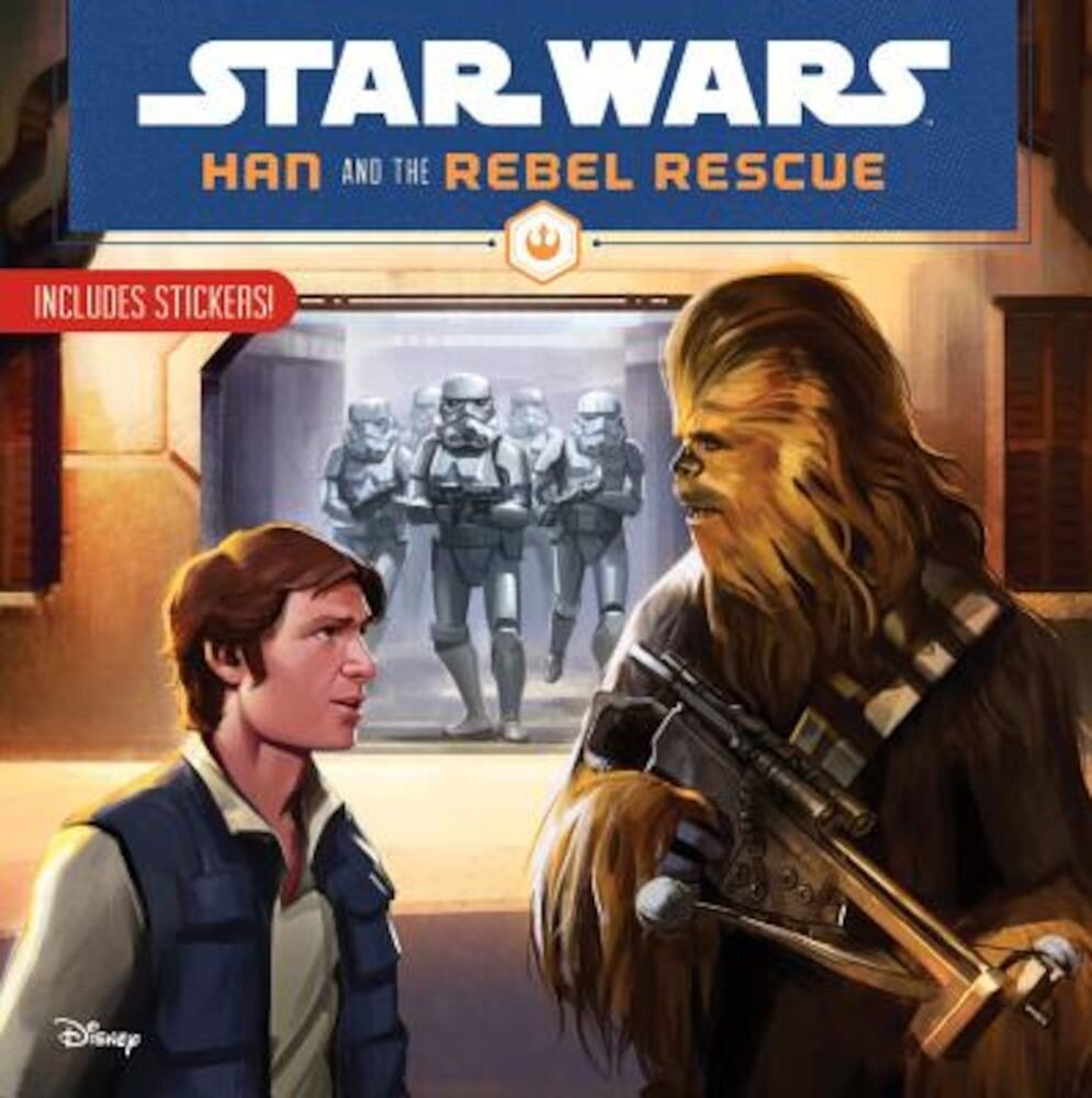 Star Wars Han and the Rebel Rescue, Paperback