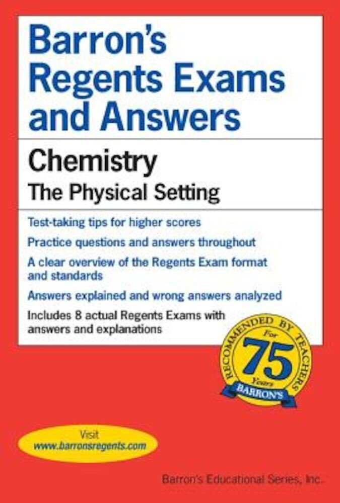 Regents Exams and Answers: Chemistry, Paperback