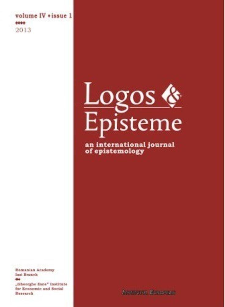 Logos. Episteme, Vol. IV