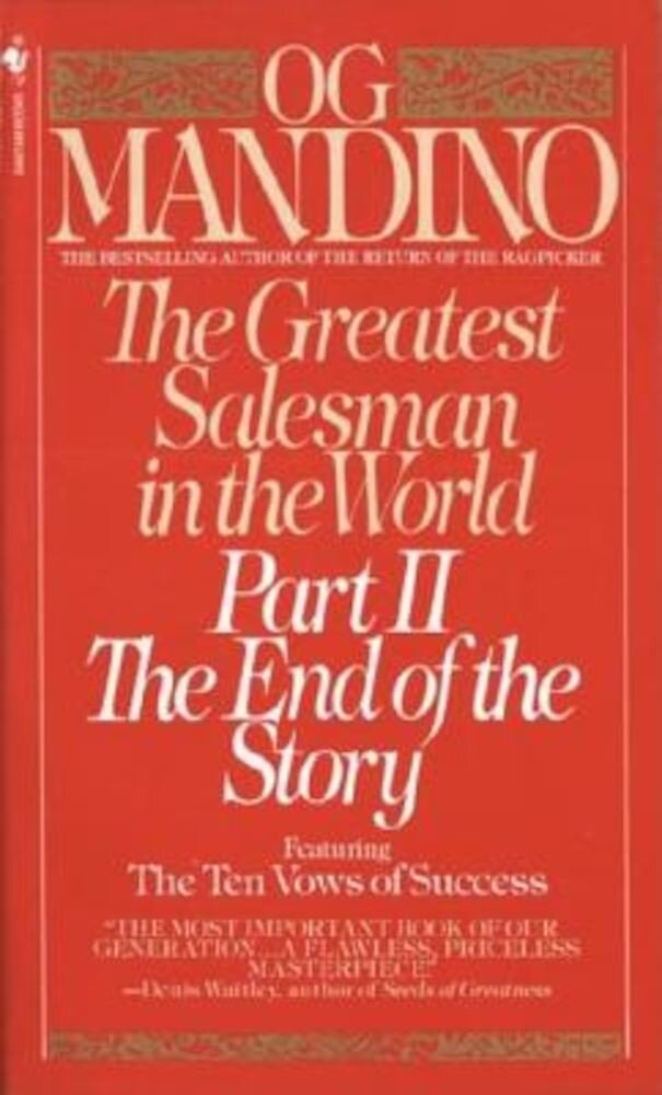 The Greatest Salesman in the World: Part II the End of the Story, Paperback