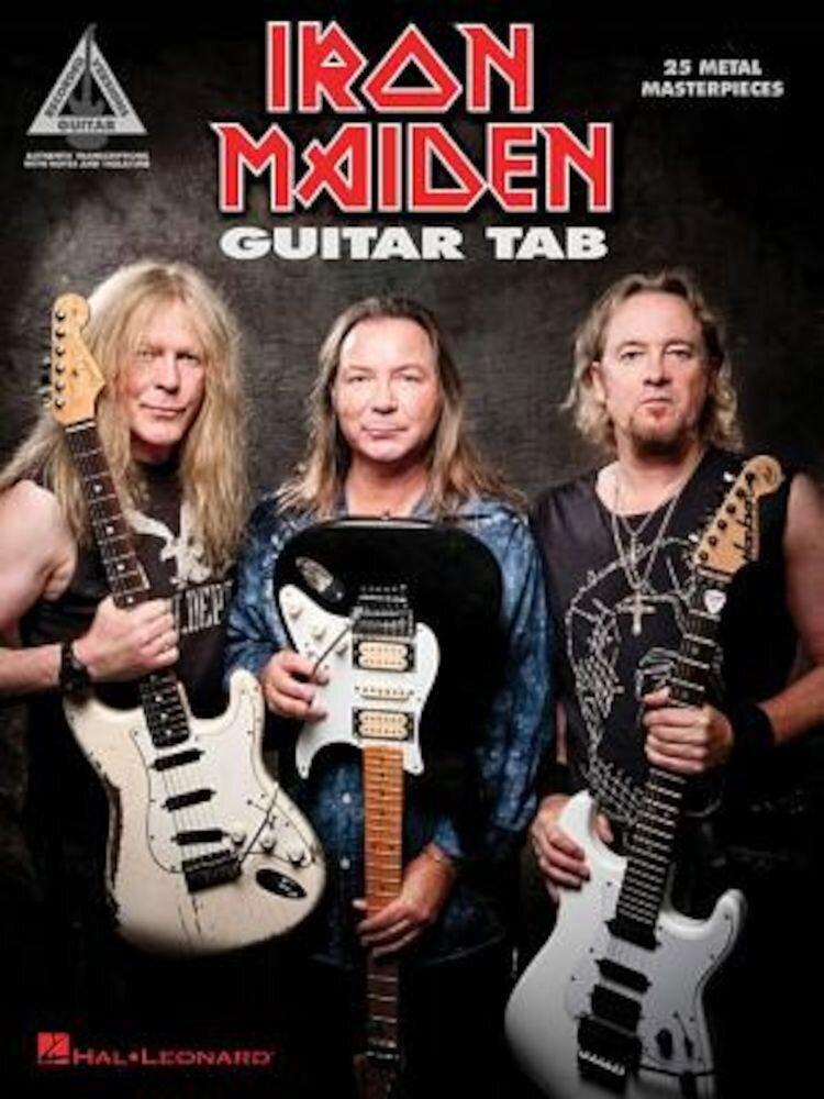 Iron Maiden - Guitar Tab: 25 Metal Masterpieces, Paperback
