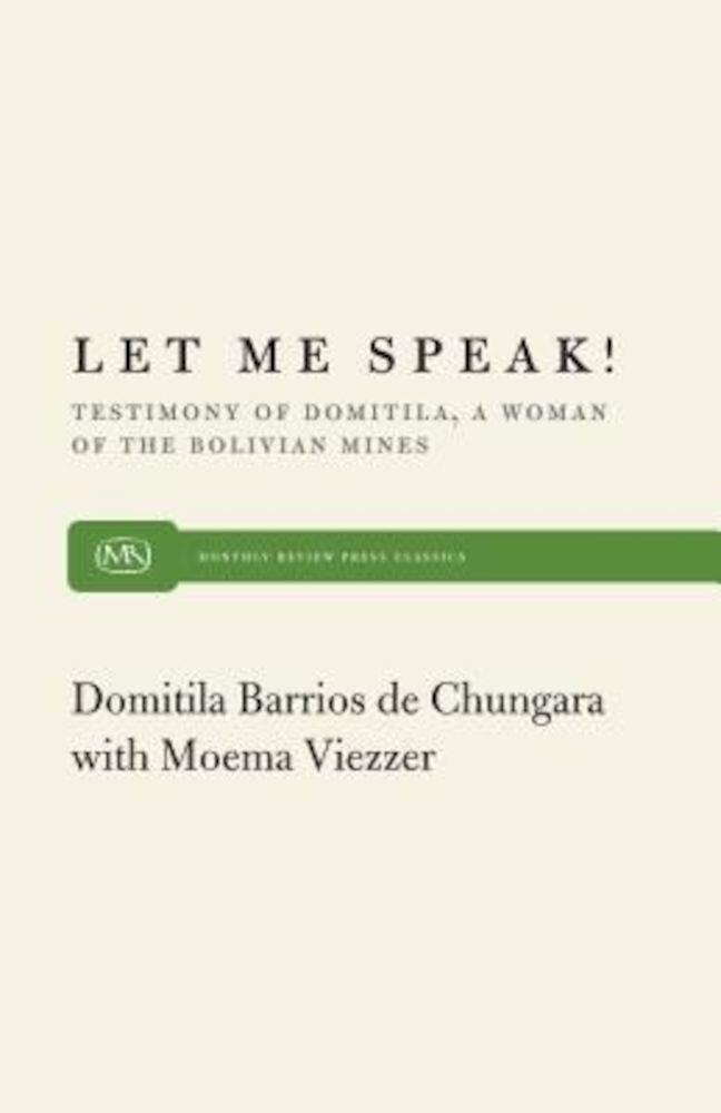 Let Me Speak, Paperback