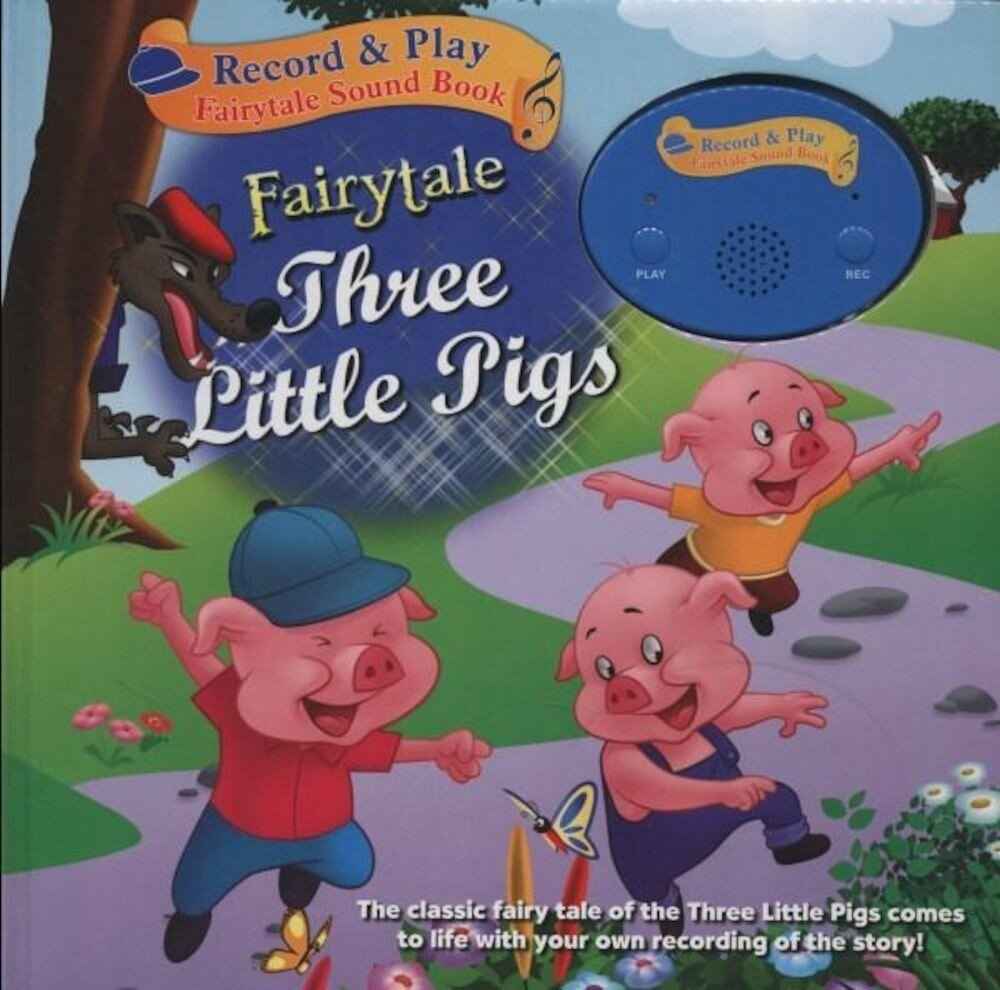 Record A Story Book - Three Little Pigs (Ctn Qty 24)