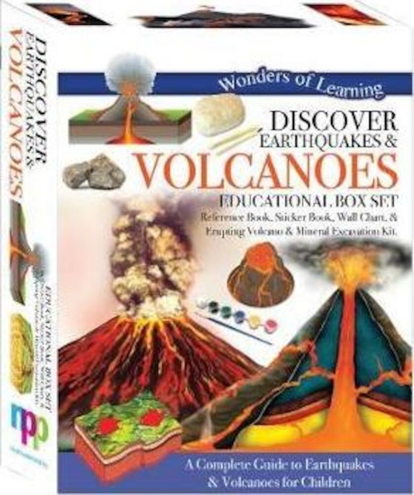 Discover Earthquakes and Volcanoes - Educational Box Set (Wonder of Learning)