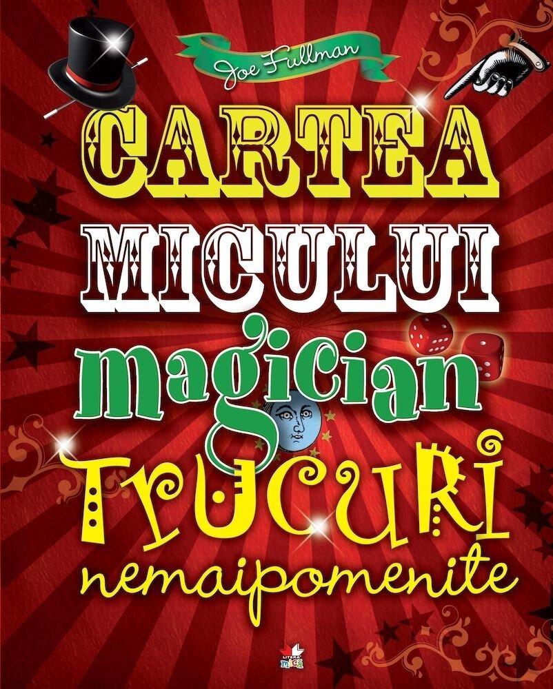 Coperta Carte Cartea micului magician. Reeditare