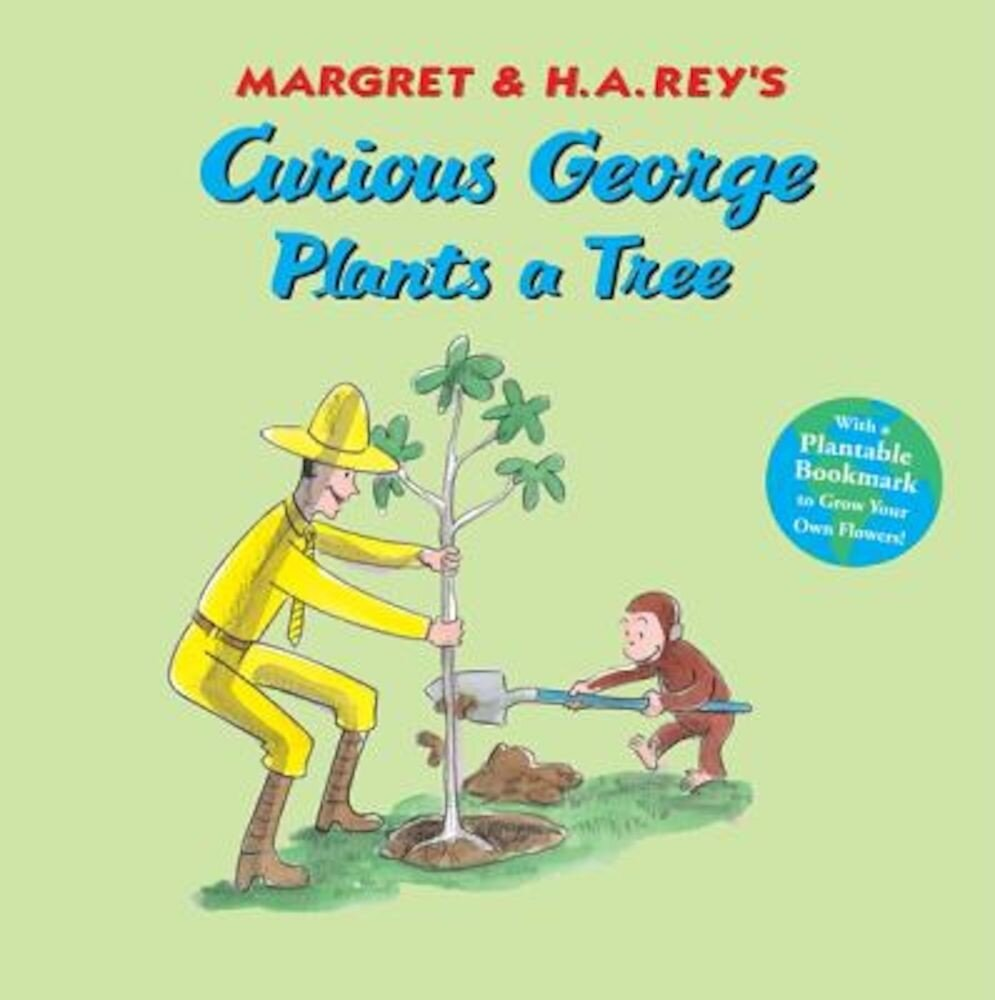 Curious George Plants a Tree, Paperback