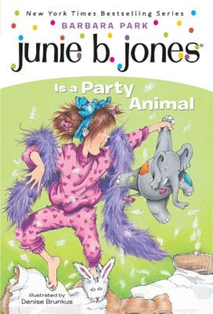 Junie B. Jones Is a Party Animal, Paperback