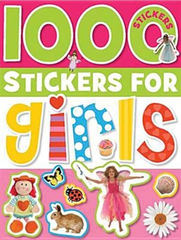 1000 Stickers for Girls [With Sticker(s)], Paperback