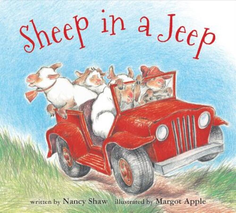 Sheep in a Jeep (Board Book), Hardcover