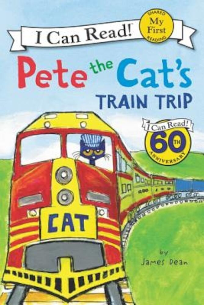 Pete the Cat's Train Trip, Paperback