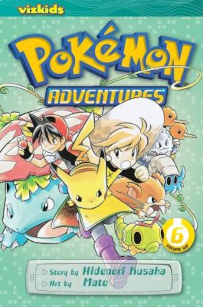 Pokemon Adventures, Volume 6, Paperback