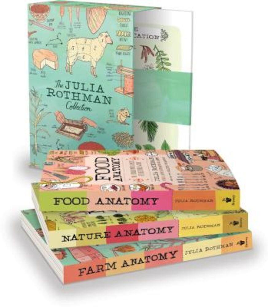 The Julia Rothman Collection: Farm Anatomy, Nature Anatomy, and Food Anatomy, Paperback