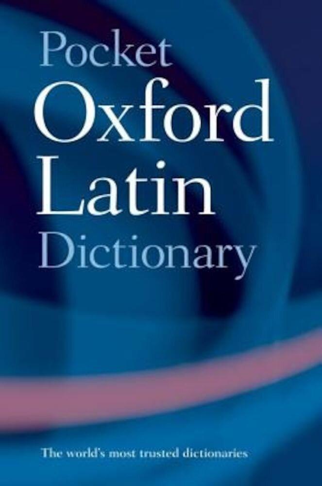Pocket Oxford Latin Dictionary, Paperback