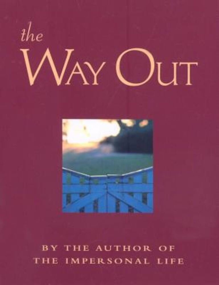 The Way Out: New Revised Edition, Paperback