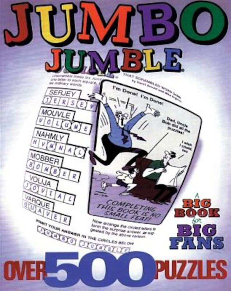 Jumbo Jumble(r): A Big Book for Big Fans, Paperback