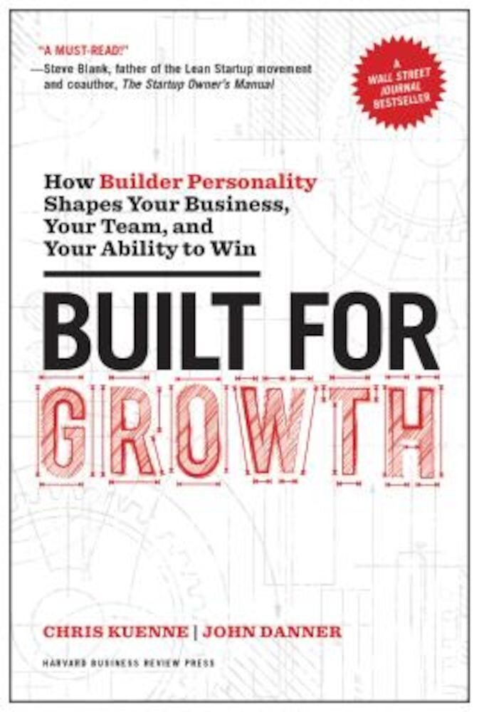 Built for Growth: How Builder Personality Shapes Your Business, Your Team, and Your Ability to Win, Hardcover