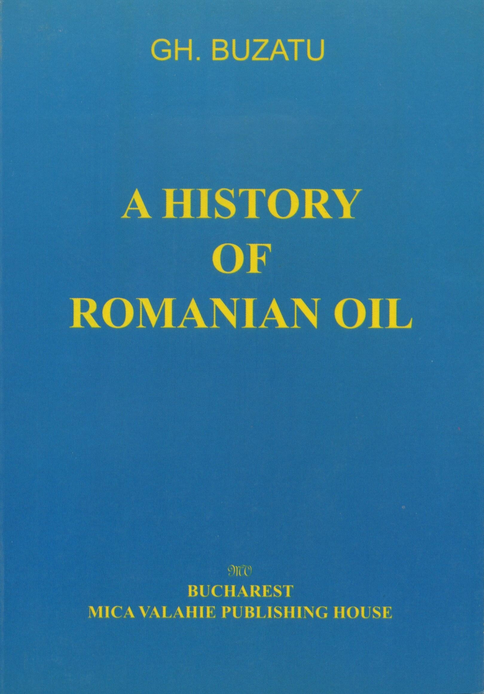 A history of romanian oil vol. I (eBook)