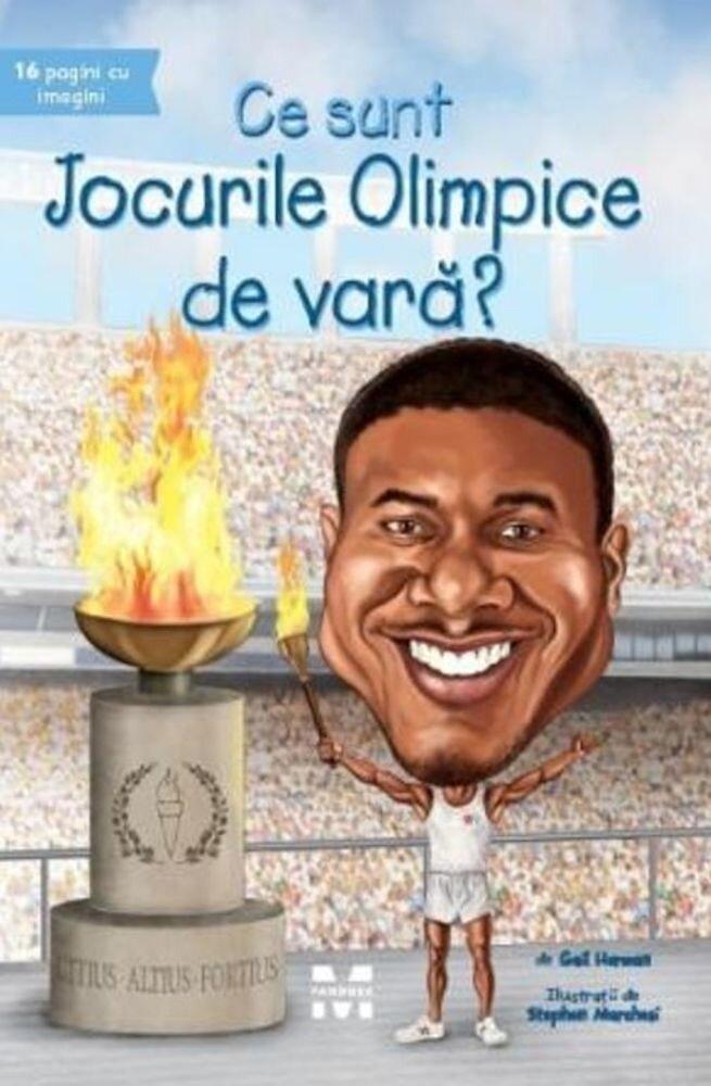 Coperta Carte Ce sunt Jocurile Olimpice de vara?