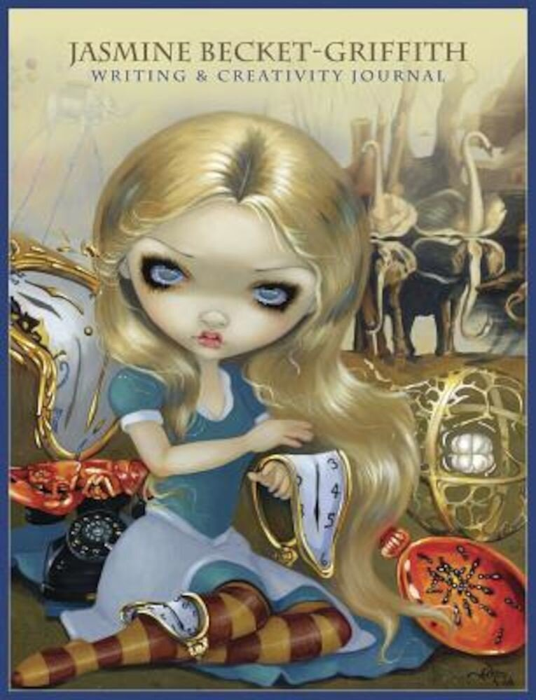 The Jasmine Becket-Griffith Journal: Writing & Creativity Journal, Paperback