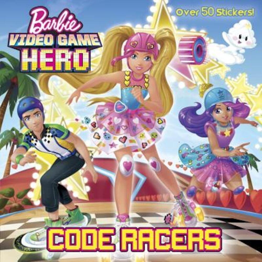 Code Racers (Barbie Video Game Hero), Paperback