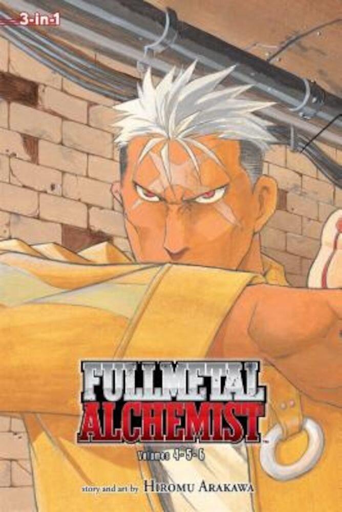 Fullmetal Alchemist 3-In-1, Volume 2: Volumes 4, 5, and 6, Paperback