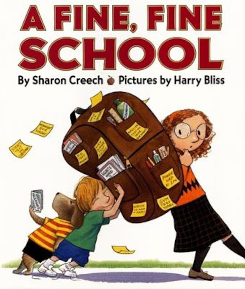 A Fine, Fine School, Hardcover