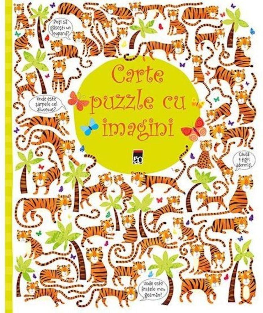 Coperta Carte Carte puzzle cu imagini