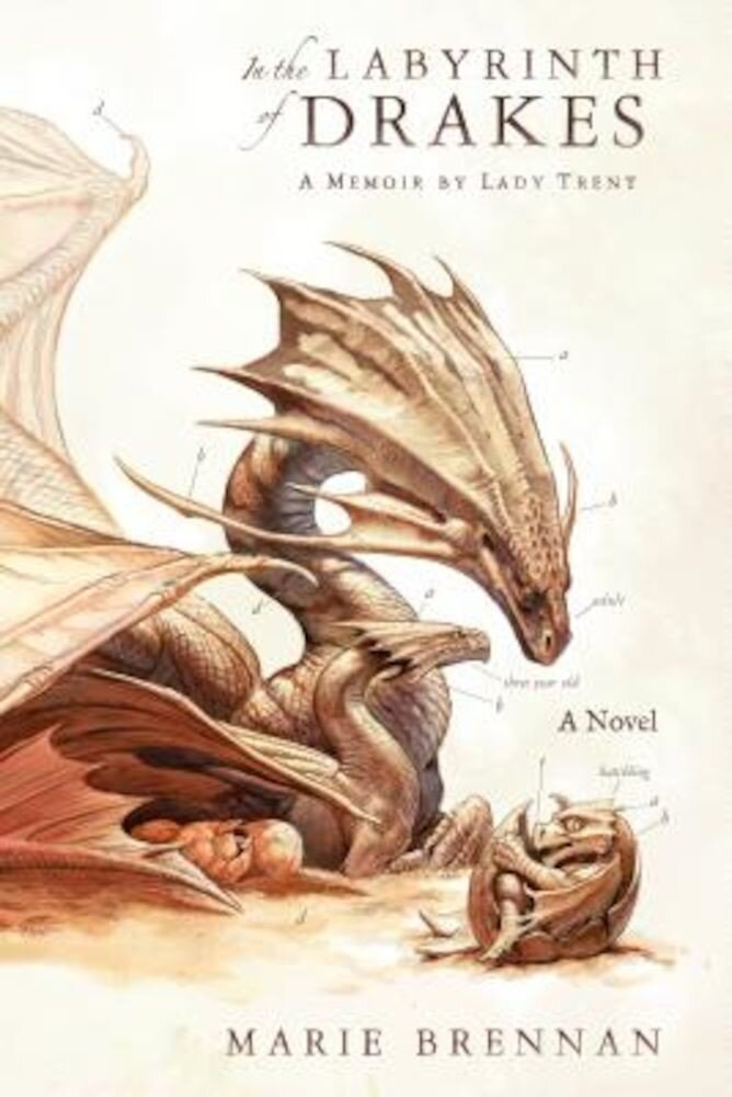 In the Labyrinth of Drakes: A Memoir by Lady Trent, Hardcover
