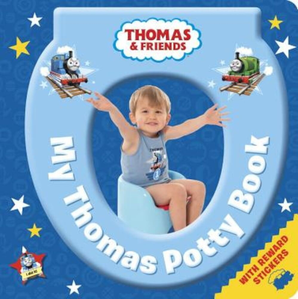 My Thomas Potty Book (Thomas & Friends), Hardcover