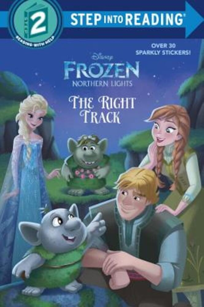 The Right Track (Disney Frozen: Northern Lights), Paperback