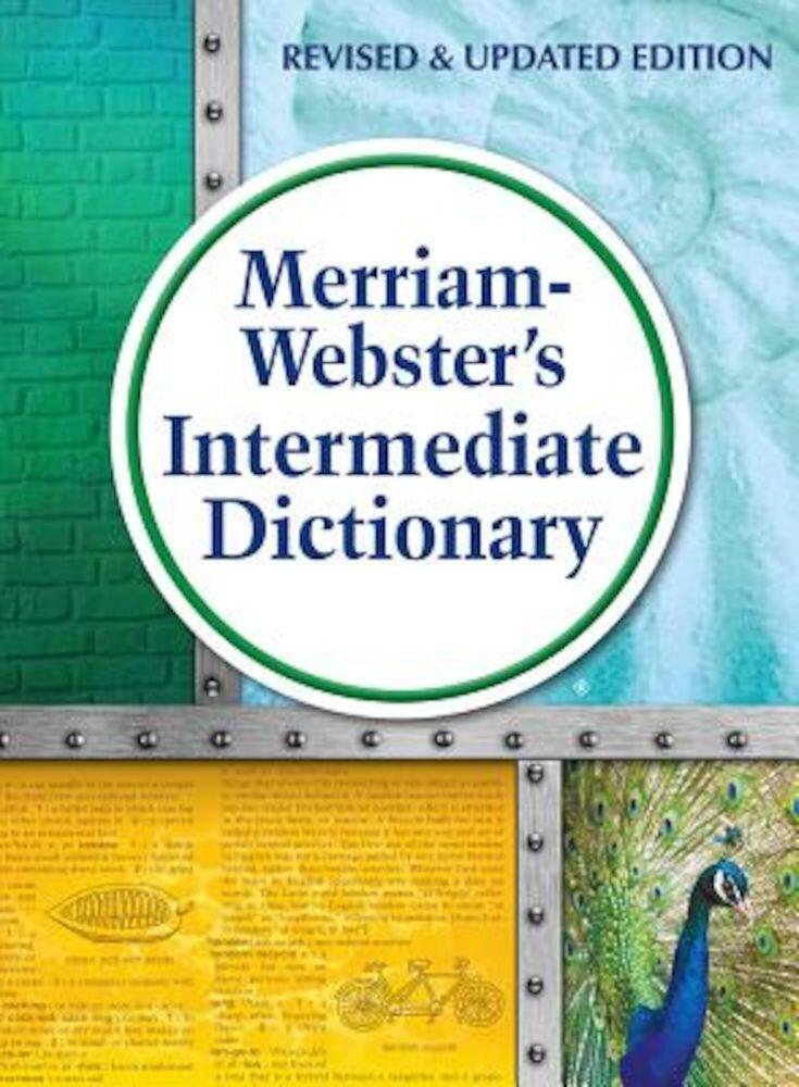 Merriam-Webster's Intermediate Dictionary, Hardcover
